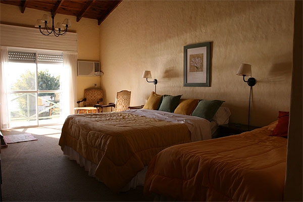 La Camila Lodge, hunters bedroom