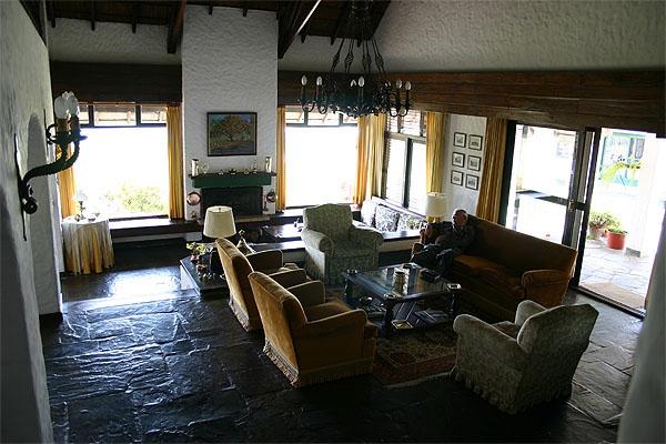 Hambaré Lodge, livingroom